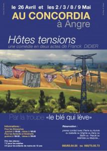 """""""Hôtes Tensions"""" par Le Blé qui Lève"""
